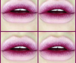 lips, make up, and makeup image