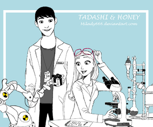 honey, tadashi, and big hero 6 image