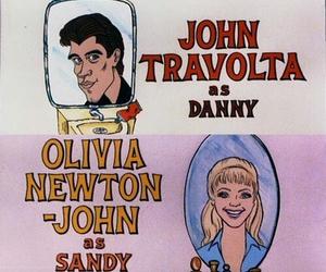 grease, John Travolta, and Sandy image