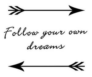 arrow, dreams, and follow image