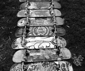skate, skateboard, and tumblr image