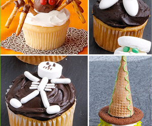 cupcakes, Halloween, and halloween cupcakes image