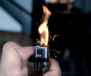 fire and lighter image
