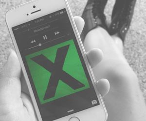 music, ed sheeran, and x image