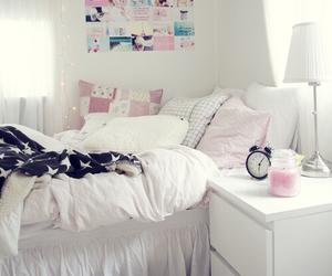 bed, Dream, and dreamroom image