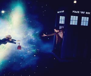 doctor who, alex kingston, and matt smith image