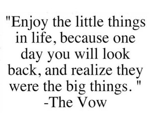 quote, life, and little things image