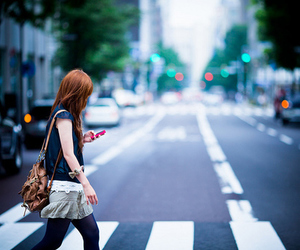 girl, street, and photography image