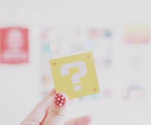 nails, pastel, and polka dots image