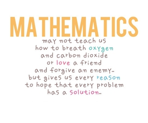 quote, mathematics, and problem image