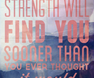 quote, strength, and text image