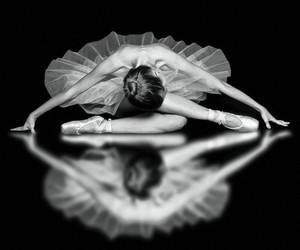 ballet, dancer, and girl image