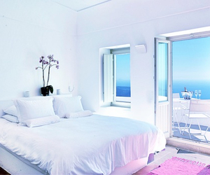 bedroom, holiday, and summer image