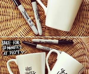 craft, mugs, and tutorial image
