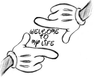 disney, life, and welcome image