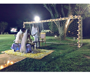magic, soccer, and wedding image