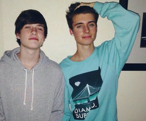 crawford collins, brothers, and christian collins image