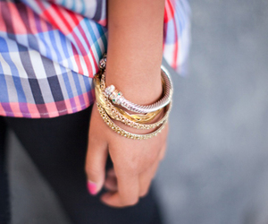 bracelet, acessorie, and fashion image