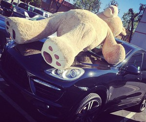 car, bear, and luxury image