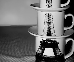 paris, cup, and mug image