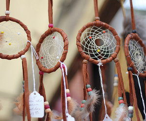 beads, dreamcatcher, and dreams image