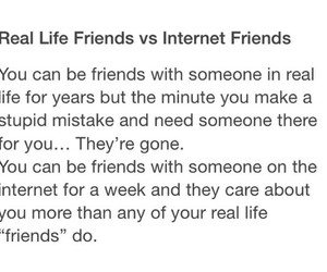 internet, internet friends, and friends image