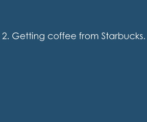 coffee, starbucks, and typography image