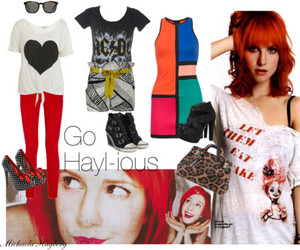 awesome, colorful, and hayley image