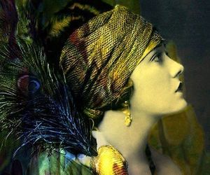gloria swanson, prohibition, and flapper style image