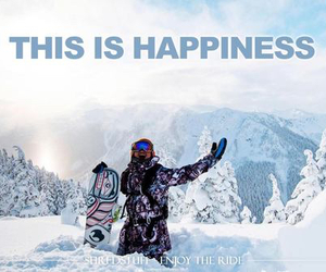 happiness, snow, and winter image