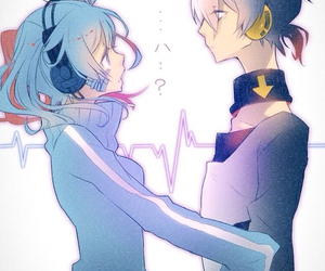 anime, kagerou project, and couple image