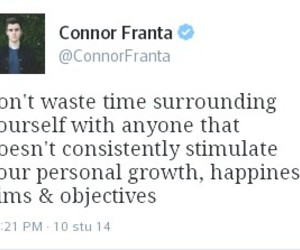 quote and connor franta image