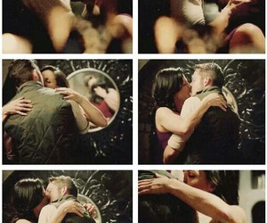 kiss, once upon a time, and regina image
