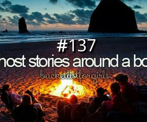 beach, before i die, and bonfire image