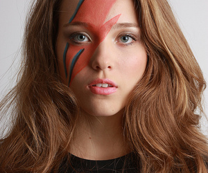 blue eyes, photography, and david bowie image