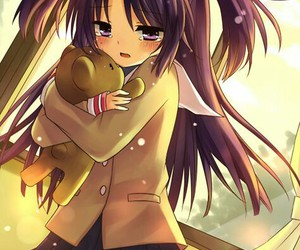 clannad, anime, and kotomi image