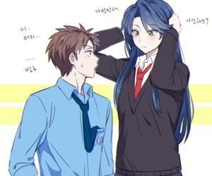 gekkan shoujo nozaki-kun and anime image