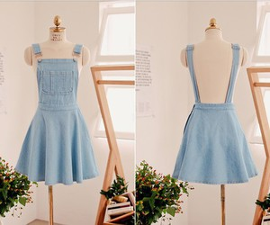 dress and jean image