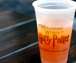 harry potter, drink, and food image