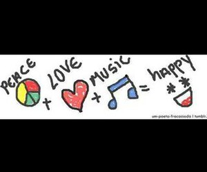 beautiful, happy, and music image