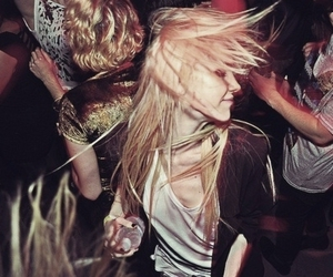party, girl, and blonde image