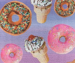 donuts, ice cream, and food image