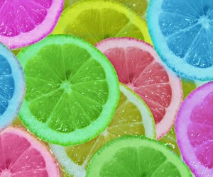 lemon, colors, and color image