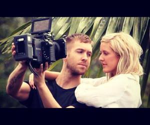 calvin harris and Ellie Goulding image