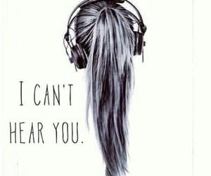 music, headphones, and hear image