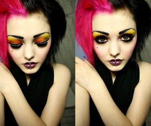 make up and pink image