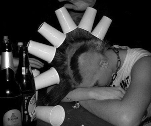 punk and drunk image