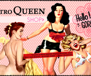 beauty, cosmetics, and pinup image
