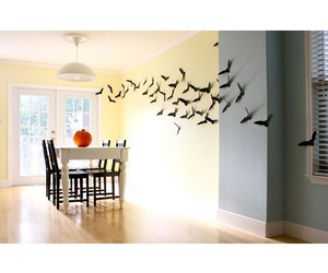 Halloween, house decoration, and halloween decor image