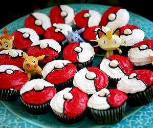 pokemon, cupcake, and food image